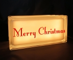 Merry Christmas night light Orange
