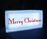 Merry Christmas night light white
