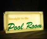 Pool room globlock yellow