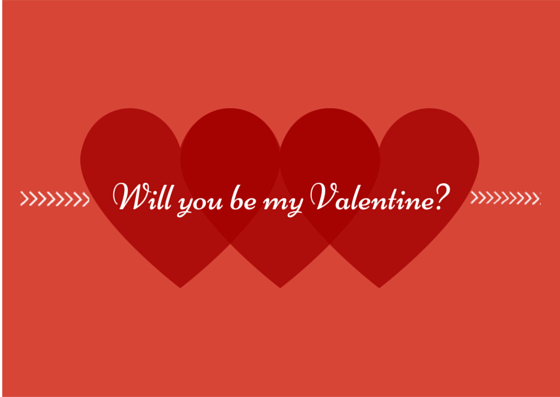 Can u be my valentine