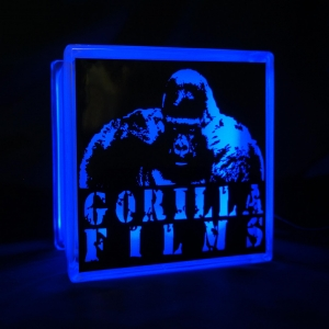 Gorilla Films glass block light GloBlock