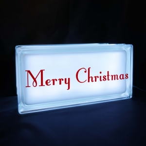 Merry Christmas night light white