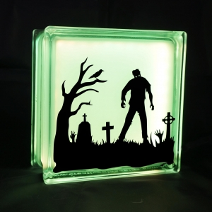 Zombie glass block light globlock