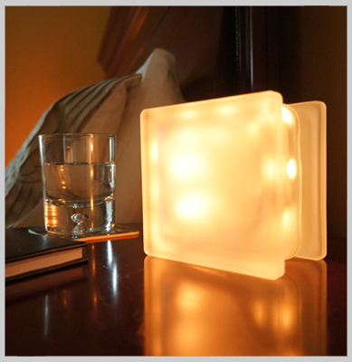 LED light Globlock bedside table lamp