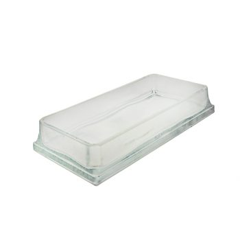 Rectangle glass dish